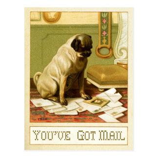 Usted tiene correo postales