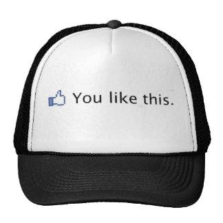 Usted tiene gusto de este gorra