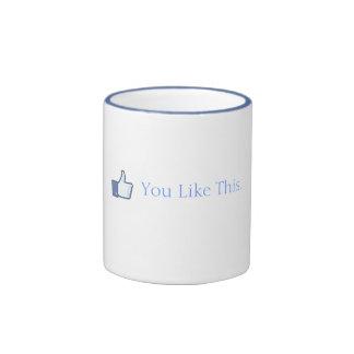 Usted tiene gusto de éste taza de café