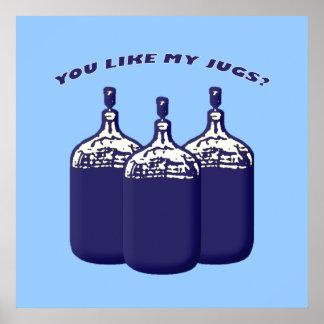 ¿Usted tiene gusto de mis jarros Impresiones