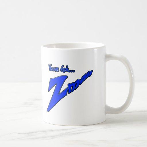 Usted tiene la novedad divertida del Z-correo- que Tazas De Café