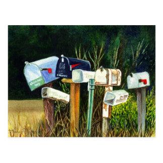 Usted tiene la postal del correo