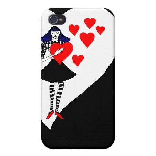 Usted tiene mi corazón iPhone 4/4S fundas