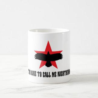 Usted tiene que llamarme Nighthawk Taza Clásica