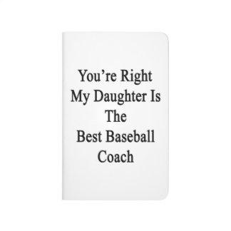 Usted tiene razón mi hija es el mejor béisbol Coac