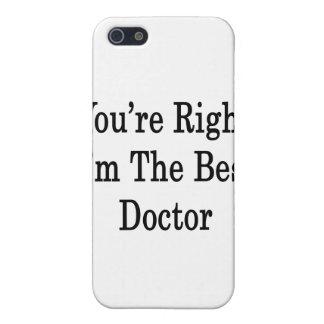 Usted tiene razón que soy el mejor doctor iPhone 5 protectores