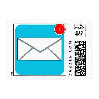 Usted tiene sellos del app del correo