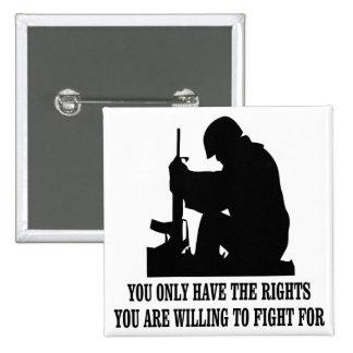 Usted tiene solamente las derechas que usted está  pins