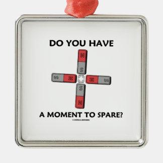 ¿Usted tiene un momento a ahorrar? (Momento de tet Adornos