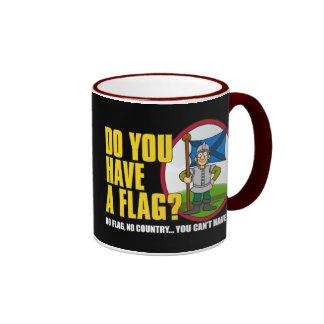 Usted tiene una taza de la bandera