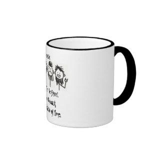 ¿Usted tienen gusto de un salmonete con su café Taza De Café