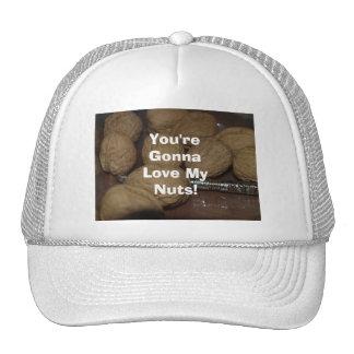 ¡Usted va a amar mis nueces Gorra