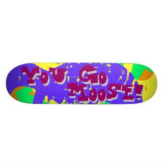 ¡Usted va los alces! 2 Tablas De Skate