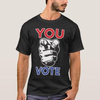 Usted vota (la edición independiente) playera
