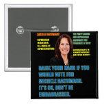 Usted votaría por Micaela Bachmann Pin