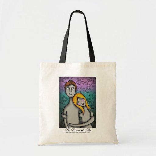 Usted y yo, bolso de compras bolsa tela barata