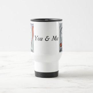 Usted y yo taza