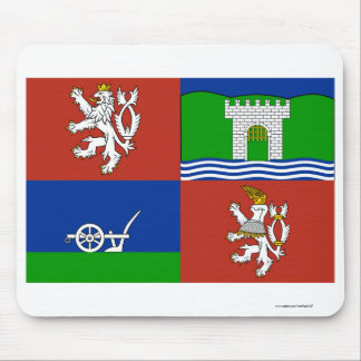 Usti nad Labem Flag Mouse Pad