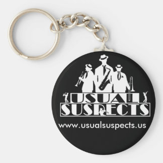 Usual Suspects Key Chain