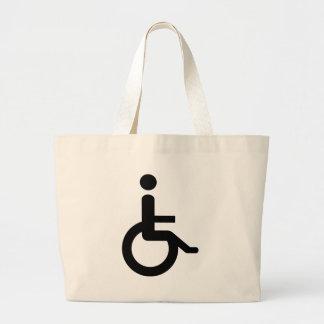 usuario de silla de ruedas bolsa