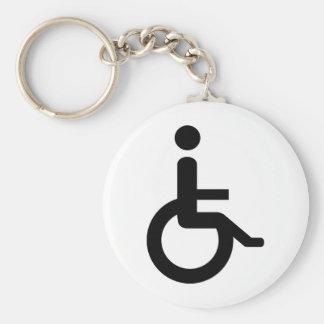 usuario de silla de ruedas llaveros personalizados