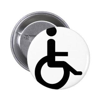 usuario de silla de ruedas pins