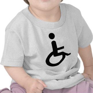 usuario de silla de ruedas camisetas