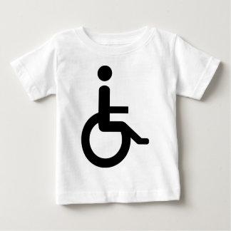 usuario de silla de ruedas playera