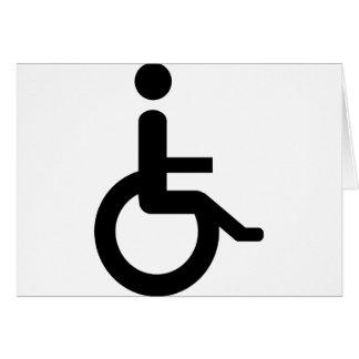 usuario de silla de ruedas felicitaciones