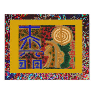 USUI REIKI symbols Card