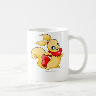 Usul Red Classic White Coffee Mug