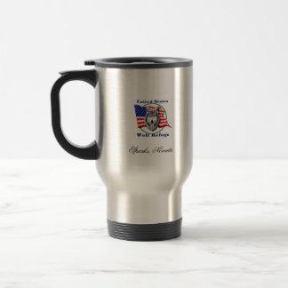 USWR Logo 15 Oz Stainless Steel Travel Mug