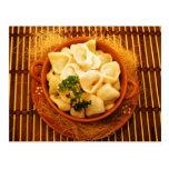Uszka - Polish dumplings Post Card