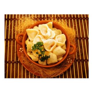 Uszka - Polish dumplings Postcard