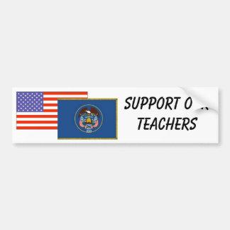 UT--Apoye a nuestros profesores Pegatina Para Auto