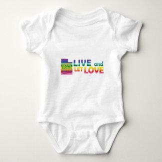 UT Live Let Love Baby Bodysuit