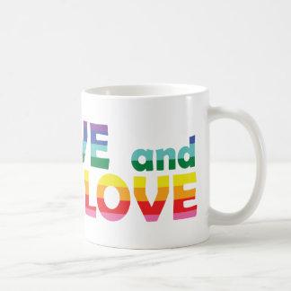 UT Live Let Love Coffee Mug