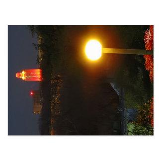 UT Tower In Orange For WIN, Austin, TX Postcard