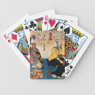 Utagawa Kunisada- Kyo-ganoko Musume Dojo-ji Deck Of Cards