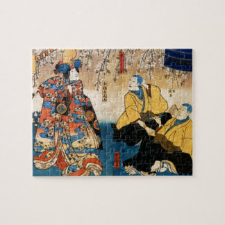 Utagawa Kunisada- Kyo-ganoko Musume Dojo-ji Jigsaw Puzzle