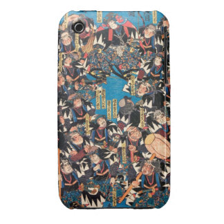 Utagawa Kunisada loyalists discussion ukiyo-e art iPhone 3 Cover