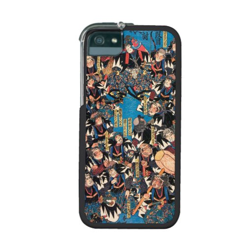 Utagawa Kunisada loyalists discussion ukiyo-e art iPhone 5/5S Cases