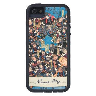Utagawa Kunisada loyalists discussion ukiyo-e art Case For iPhone SE/5/5s
