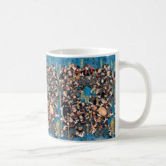 Utagawa Kunisada loyalists discussion ukiyo-e art Coffee Mug