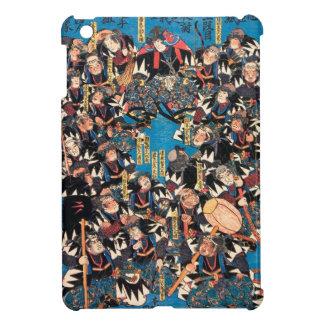 Utagawa Kunisada loyalists discussion ukiyo-e art Cover For The iPad Mini
