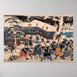 Utagawa Kuniyoshi  47 RONIN Impresiones