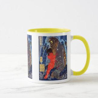 Utagawa Kuniyoshi and Sakata robust child circle Mug