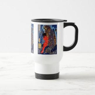 Utagawa Kuniyoshi and Sakata robust child circle ( 15 Oz Stainless Steel Travel Mug