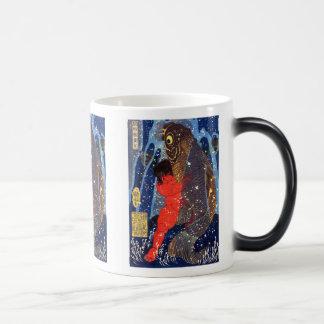 Utagawa Kuniyoshi and Sakata robust child circle ( 11 Oz Magic Heat Color-Changing Coffee Mug