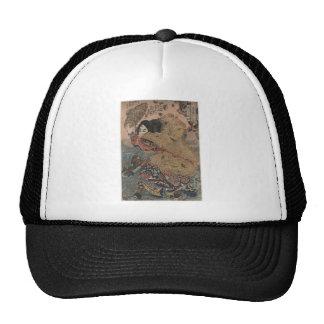 Utagawa Kuniyoshi - Kinhyoshi Yorin woodcut print Trucker Hat